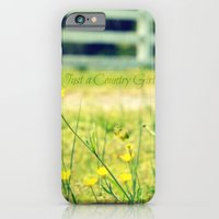 Just a Country Girl... iPhone 6 Slim Case
