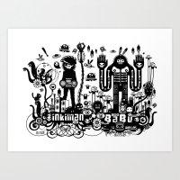 Big Babu long lasting dub Art Print
