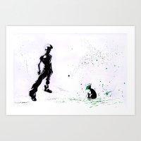 Urchin Art Print