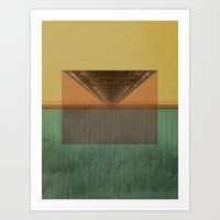 The Bridge Downtown Art Print