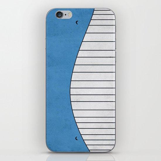 #321 Wailord - Pokemon Poster Minimalistic Design iPhone & iPod Skin
