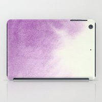 purple watercolor iPad Case