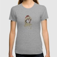 Ana Womens Fitted Tee Athletic Grey SMALL