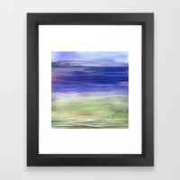 Let The Music Float With… Framed Art Print