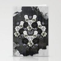 Flower Kaleidoscope Stationery Cards
