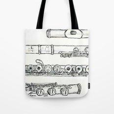 Flöte Tote Bag