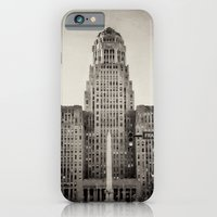 iPhone & iPod Case featuring Down Town Buffalo NY city hall by Michelle Anderson