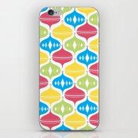 Fun & Bright Christmas O… iPhone & iPod Skin