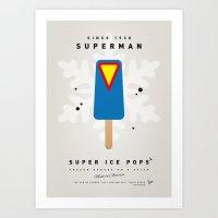 My SUPER ICE POP- No12 Art Print