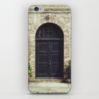 Courtyard Door iPhone & iPod Skin