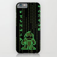 iPhone & iPod Case featuring The Pixel Matrix by Eric A. Palmer