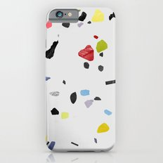 painted terrazzo 1 iPhone 6 Slim Case