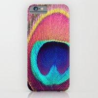 Pink Peacock iPhone 6 Slim Case