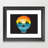 1 Eyed Willie Framed Art Print