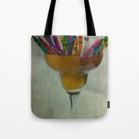 CRAYON LOVE : Addiction Tote Bag