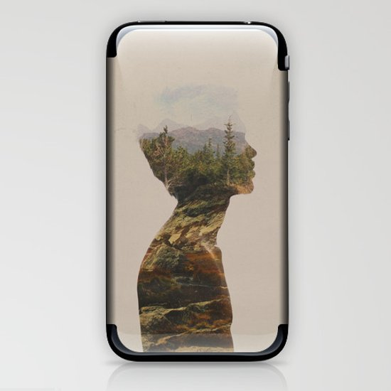 Side by Side iPhone & iPod Skin