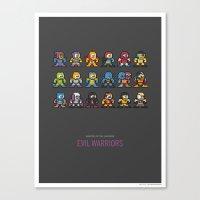 Mega MotU: Evil Warriors Canvas Print
