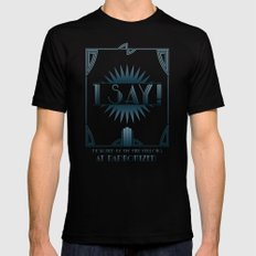 I Say! Mens Fitted Tee Black SMALL