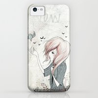 iPhone 5c Cases featuring My Heart Carries Me Through by Kelli Murray