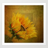 Sunflower Magic Art Print