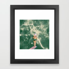 Space Olympics Framed Art Print