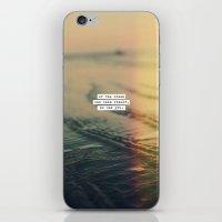 Calm Yourself iPhone & iPod Skin