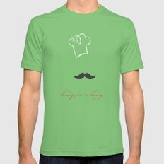keep cooking Mens Fitted Tee Grass SMALL