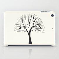 bird tree iPad Case