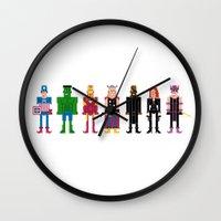 The Pixel A Vengers Wall Clock