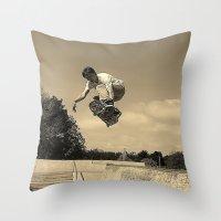 Adam Lindles Throw Pillow
