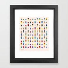 COASTAL 2 — Matthew Ko… Framed Art Print
