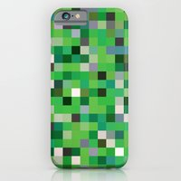 Pixel Painting iPhone 6 Slim Case