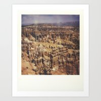 Bryce Canyon National Pa… Art Print