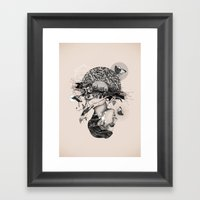 Core I Framed Art Print
