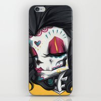 Madame Muerte PAINT iPhone & iPod Skin