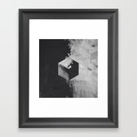 Pattern Drop III Framed Art Print