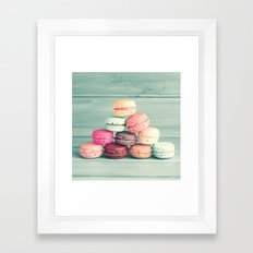 Pastel  Triangle I Framed Art Print