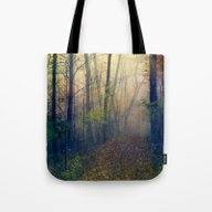 Wandering In A Foggy Woo… Tote Bag