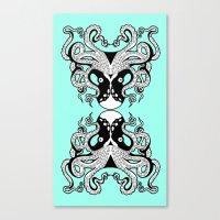 Octopus Mirrored Canvas Print