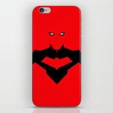 RED RED HOOD iPhone & iPod Skin