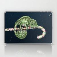 Christmas Chameleon Laptop & iPad Skin