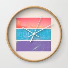 Colour Wall Clock