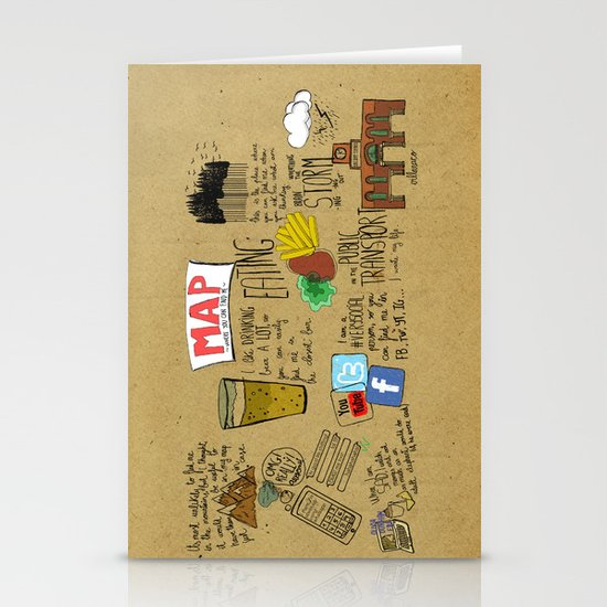MAP Stationery Card