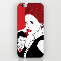 Red Head iPhone & iPod Skin