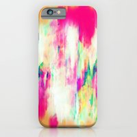 iPhone Cases featuring Electric Haze by Amy Sia