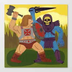 Good Versus Evil Canvas Print