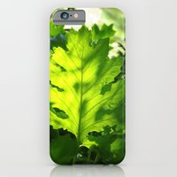 iPhone & iPod Case featuring Green Touch by CrismanArt