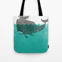Belly Of The Whale - Hip… Tote Bag