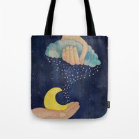Handmade Night Tote Bag