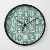 Picture Frames Aplenty B… Wall Clock